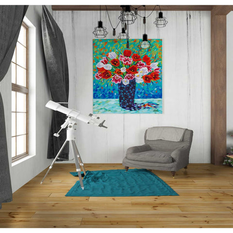 Image of 'Bouquet Celebration I' by Carolee Vitaletti, Giclee Canvas Wall Art