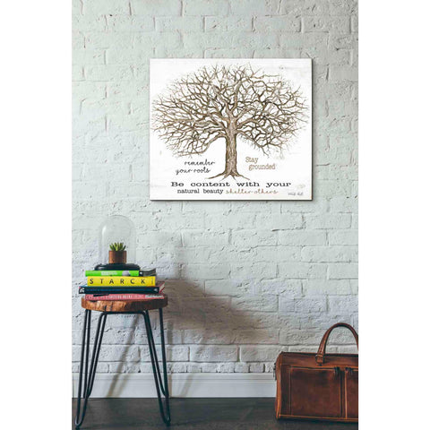 'Remember Our Roots' by Cindy Jacobs, Giclee Canvas Wall Art