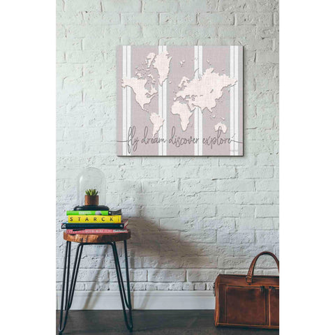 Image of 'Fly Dream Discover Explore' by Cindy Jacobs, Giclee Canvas Wall Art