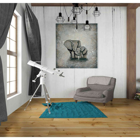 Image of 'My Love for You' by Britt Hallowell, Giclee Canvas Wall Art