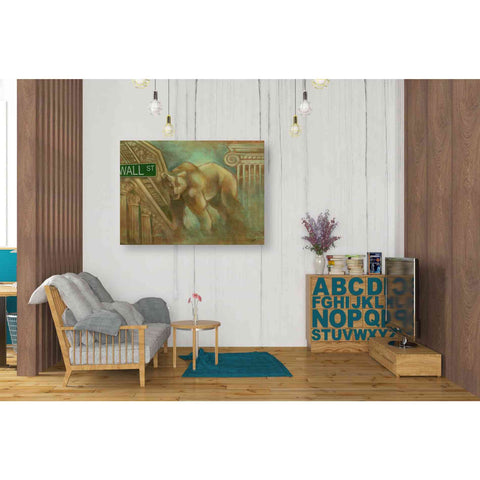 Image of 'Bear Market' by Ethan Harper Giclee Canvas Wall Art