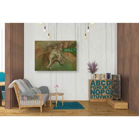 'Bull Market' by Ethan Harper Giclee Canvas Wall Art