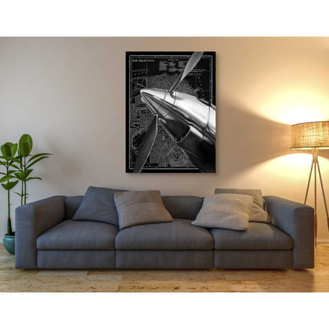 Image of 'Vintage Plane II' by Ethan Harper Canvas Wall Art,26 x 34
