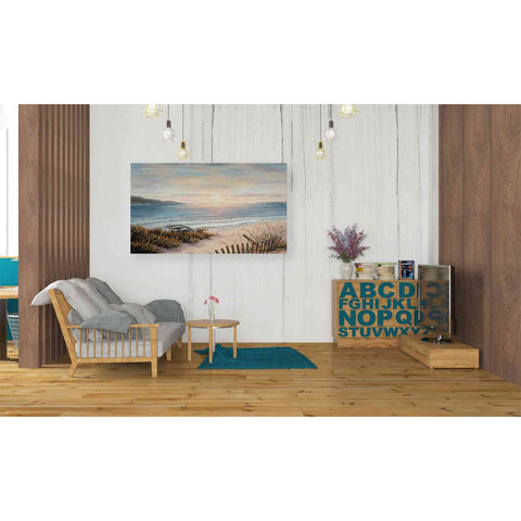 Image of 'Boat and the Sand' by Barbara Felisky, Giclee Canvas Wall Art