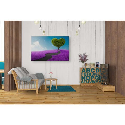 Image of 'Follow Your Heart ' Giclee Canvas Wall Art