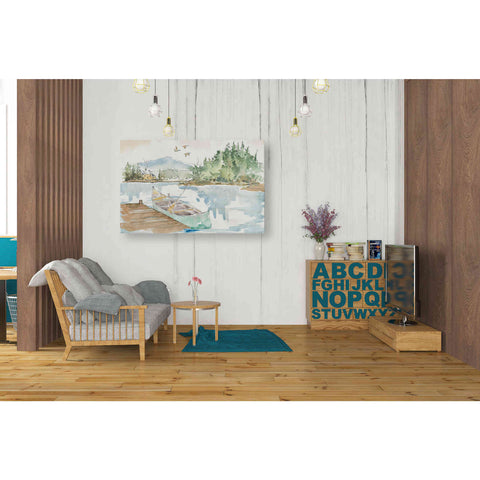 Image of 'Lakehouse I' by Anne Tavoletti, Canvas Wall Art,40 x 26