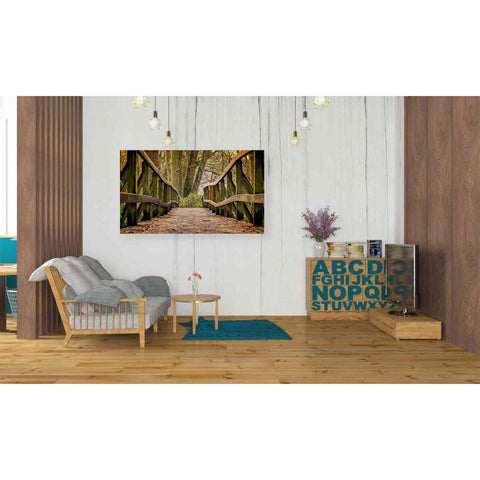 Image of 'Away' Giclee Canvas Wall Art