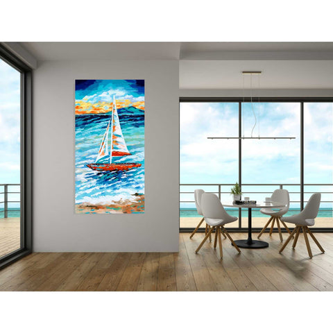 Image of 'Wind in my Sail II' by Carolee Vitaletti, Giclee Canvas Wall Art