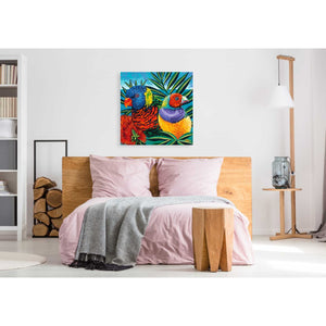 'Birds in Paradise II' by Carolee Vitaletti, Giclee Canvas Wall Art
