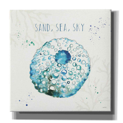 Image of 'Deep Sea VII' by Anne Tavoletti, Canvas Wall Art,37 x 37