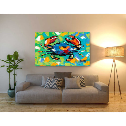 Image of 'Seaside Crab II' by Carolee Vitaletti, Giclee Canvas Wall Art