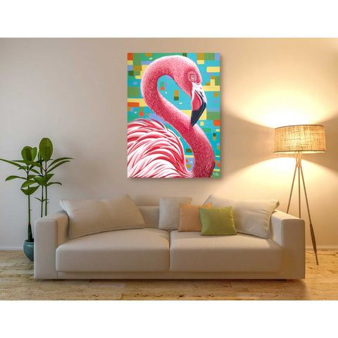 Image of 'Fabulous Flamingos I' by Carolee Vitaletti, Giclee Canvas Wall Art