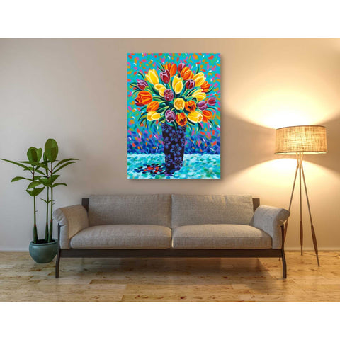 Image of 'Bouquet Celebration II' by Carolee Vitaletti, Giclee Canvas Wall Art