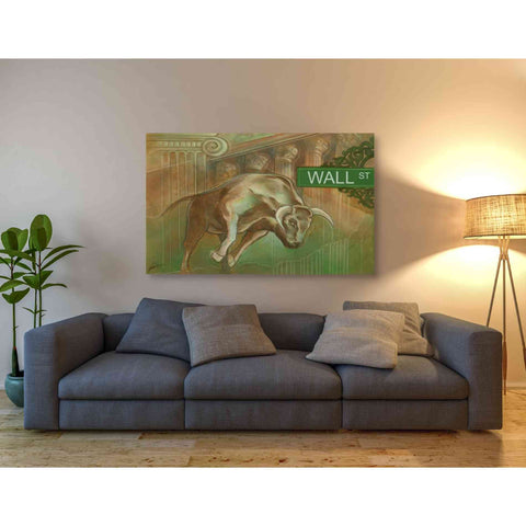 Image of 'Bull Market' by Ethan Harper Giclee Canvas Wall Art