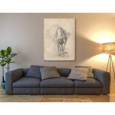 'Antique Ballerina Study I' by Ethan Harper Canvas Wall Art,40 x 54