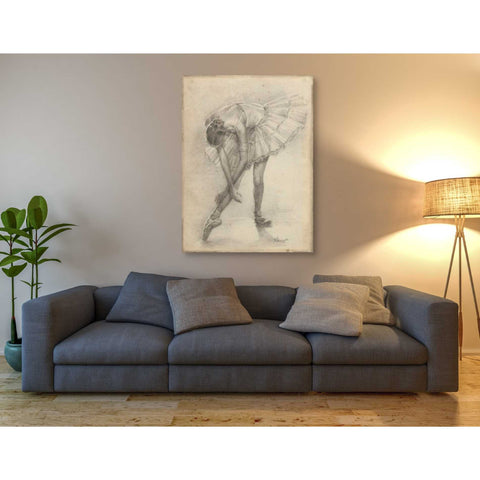 Image of 'Antique Ballerina Study II' by Ethan Harper Canvas Wall Art,40 x 54