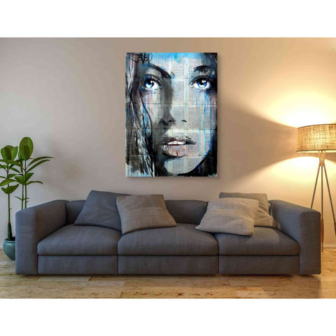 Image of 'Blue Sway' by Loui Jover, Giclee Canvas Wall Art