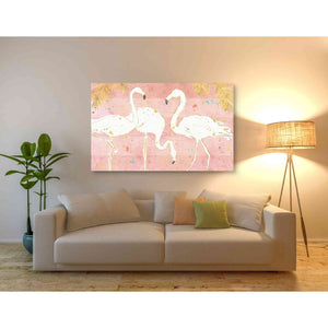 'Flamingo Fever IV' by Anne Tavoletti, Giclee Canvas Wall Art