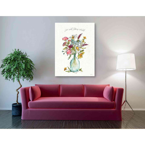 'Simply Petals II' by Anne Tavoletti, Giclee Canvas Wall Art
