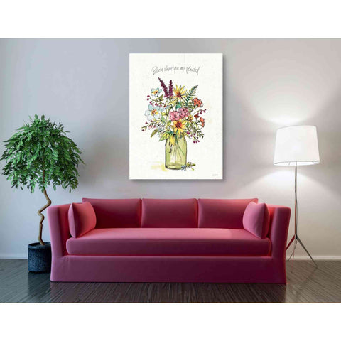 Image of 'Simply Petals III' by Anne Tavoletti, Giclee Canvas Wall Art