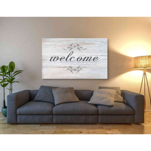 'Welcome' by Bluebird Barn, Giclee Canvas Wall Art