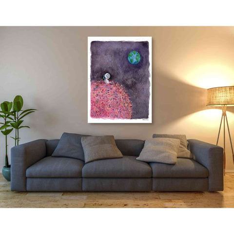 'Sitting on a Flower Moon' by Rachel Nieman, Giclee Canvas Wall Art