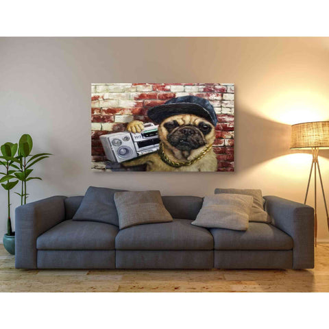 'Who Let The Dogs Out' by Lucia Heffernan, Canvas Wall Art,54 x 40