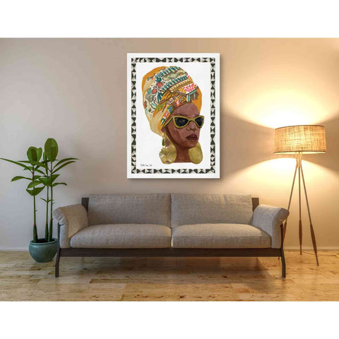 Image of 'Side Portrait 1' by Stellar Design Studio, Giclee Canvas Wall Art