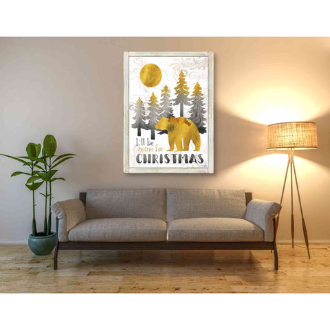 Image of 'Merry Christmas and Happy New Year' by Cindy Jacobs, Giclee Canvas Wall Art
