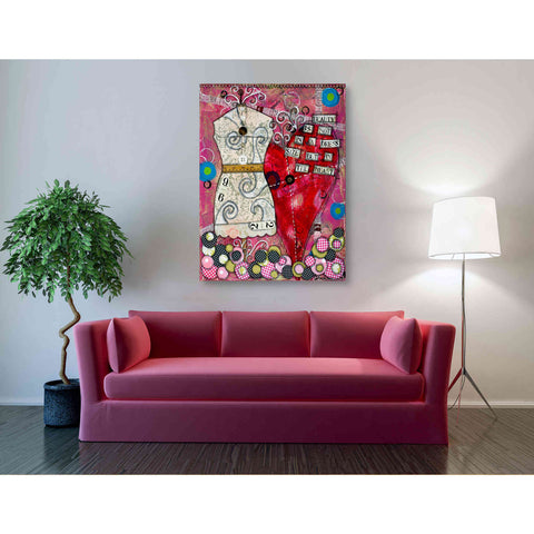 """It's Not the Dress Size"" by Denise Braun, Giclee Canvas Wall Art"