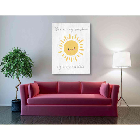 'Only Sunshine' by Kyra Brown, Canvas Wall Art,40 x 54