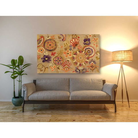 """Oriental Screen"" by Silvia Vassileva, Giclee Canvas Wall Art"