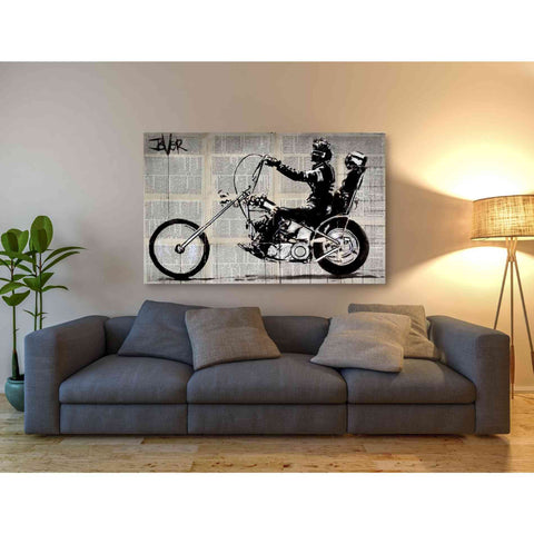 'Get Your Motor Running' by Loui Jover, Giclee Canvas Wall Art