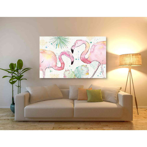 Image of 'Palm Passion I' by Anne Tavoletti, Giclee Canvas Wall Art