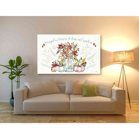 Image of 'Festive Foliage I' by Anne Tavoletti, Giclee Canvas Wall Art
