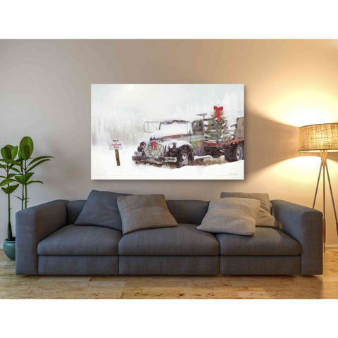 'Wyoming Tree Farm' by Lori Deiter, Giclee Canvas Wall Art