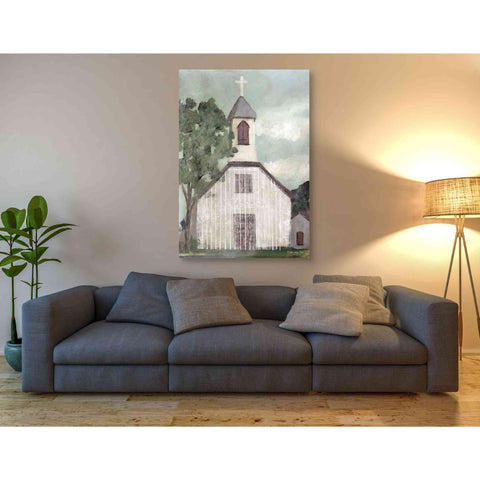 'Church 2' by Stellar Design Studio, Giclee Canvas Wall Art