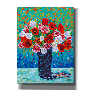 'Bouquet Celebration I' by Carolee Vitaletti, Giclee Canvas Wall Art