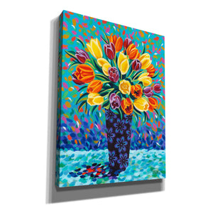 'Bouquet Celebration II' by Carolee Vitaletti, Giclee Canvas Wall Art