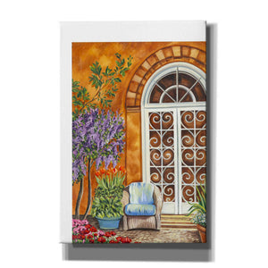 'Tuscan Veranda I' by Carolee Vitaletti, Giclee Canvas Wall Art