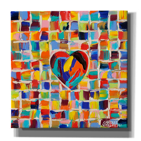 'Love of Color II' by Carolee Vitaletti Giclee Canvas Wall Art