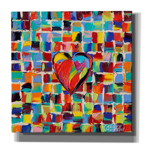 Image of 'Love of Color I' by Carolee Vitaletti Giclee Canvas Wall Art