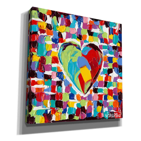 Image of 'Mosaic Heart I' by Carolee Vitaletti Giclee Canvas Wall Art