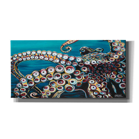 Image of 'Wild Octopus I' by Carolee Vitaletti Giclee Canvas Wall Art