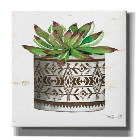 Image of 'Mud Cloth Vase VI' by Cindy Jacobs, Giclee Canvas Wall Art