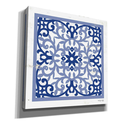 Image of 'Blue Tile V' by Cindy Jacobs, Giclee Canvas Wall Art