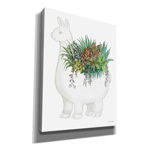 'Proud Llama Pot II' by Cindy Jacobs, Giclee Canvas Wall Art