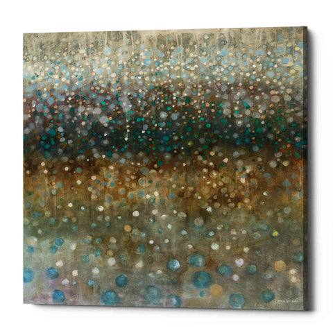 """Abstract Rain"" by Danhui Nai, Giclee Canvas Wall Art"
