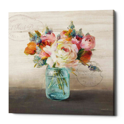 "Image of ""French Cottage Bouquet II Mothers"" by Danhui Nai, Giclee Canvas Wall Art"