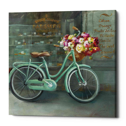 "Image of ""Joy of Paris I"" by Danhui Nai, Giclee Canvas Wall Art"